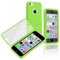 BasAcc Green/ Clear Frosted Cover Book TPU Case for Apple iPhone 5C