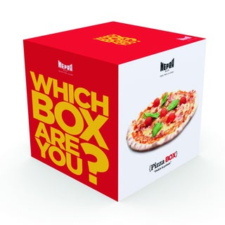 Mepra Which Box Are You? Pizza Box