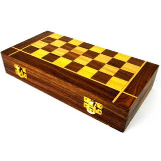 Handmade Folding Chess and Backgammon Game (India)