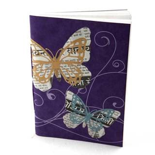 Handmade Butterfly Journal (India)