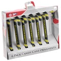 Oregon Ducks NCAA Candy Cane Ornament Set