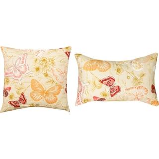 Papillion Decorative Pillows (Set of 2)