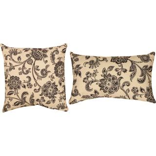 Copeland Black Decorative Pillows (Set of 2)