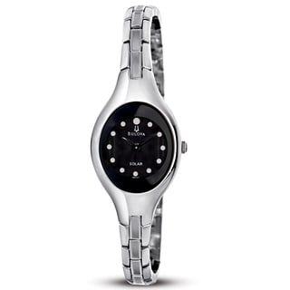 Bulova Women's Black Dial Dress Watch