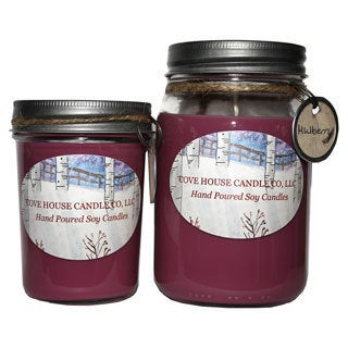 Mulberry 8/ 16-ounce Soy Container Candle
