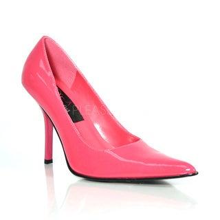 Pleaser Women's 'Foxy-01' Fuchsia Pointed Toe Pumps