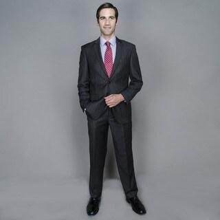 Charcoal Stripe 2-button Suit