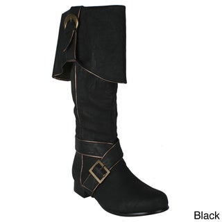 Ellie '121-Jack' Men's 1-inch Heel Knee High Boots