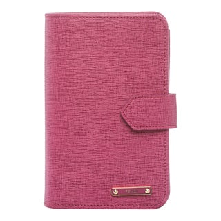 Fendi 'Crayons' Fuchsia Leather Bi-fold Wallet