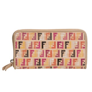 Fendi Multicolored Zucchino Wallet