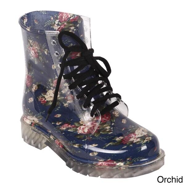 Cape Robin 'Jaden-GJ-01' Women's Candy Mid Calf Jelly Boots