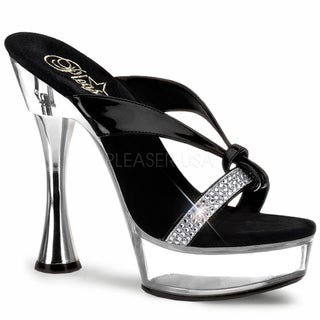 Pleaser 'Sweet-405R' Women's Cone Heel Platform Slide