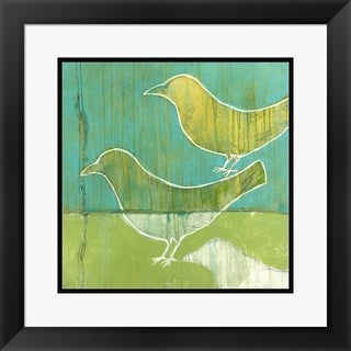 Christopher Balder 'Flock' Framed Art