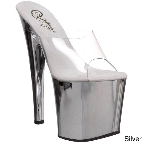 Pleaser 'Taboo-701' Stiletto Heel Platforms