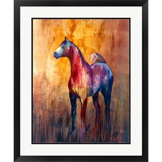 Annrika James 'Unbridled I' Framed Art