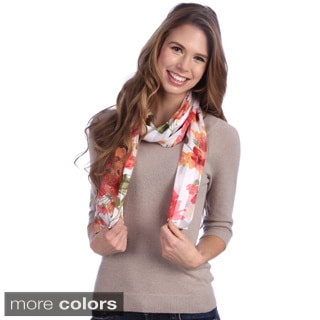 Floral Prints Scarf Assortment (12 Scarves)