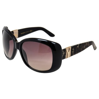 Yves Saint Laurent Women's ' 6378/S YXZ' Black Sunglasses