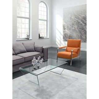 Migration Clear Glass Coffee Table