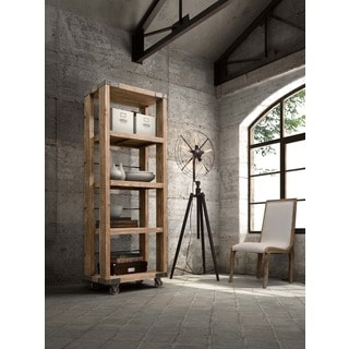 Kirkwood Distressed Natural 4-level Shelf