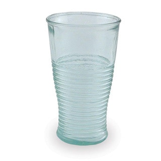 Set of 4 Modern Recycled Glass Beverage Glasses