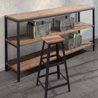 Dwight 3-level Distressed Natural Shelf