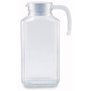 Clear Glass 1.75-liter Quadro Pitcher
