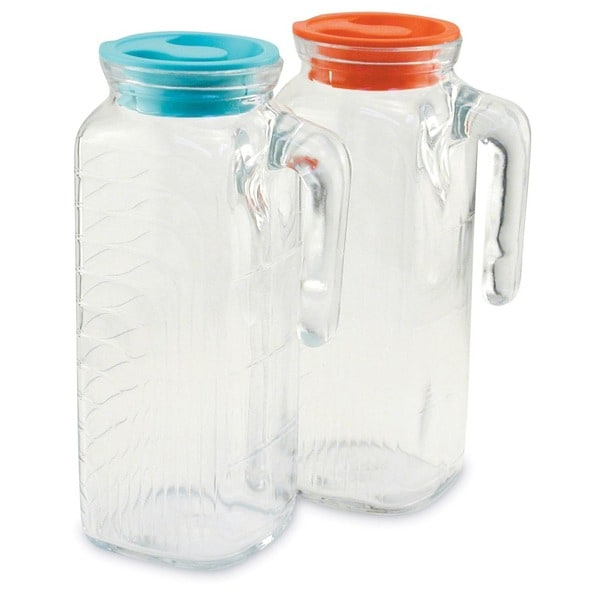 Set of 2 Gelo Fridge Jugs