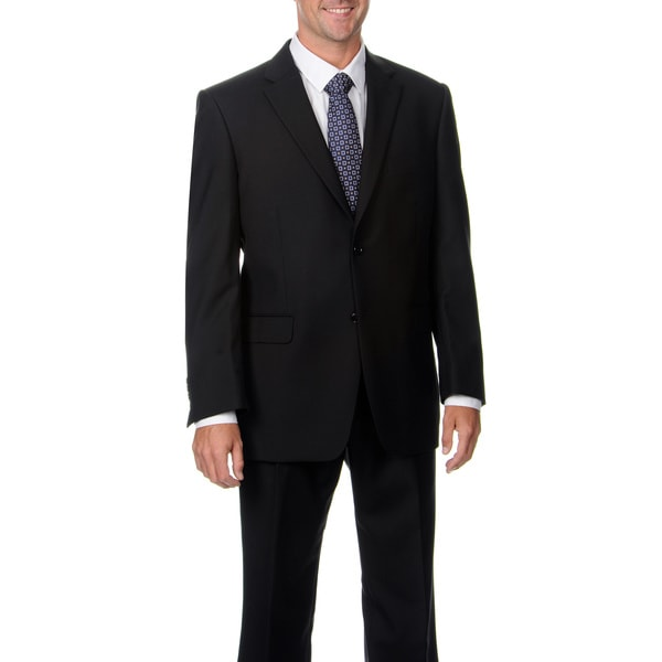 Jones New York Men's Trent 2 Btn Shadow Stripe Suit