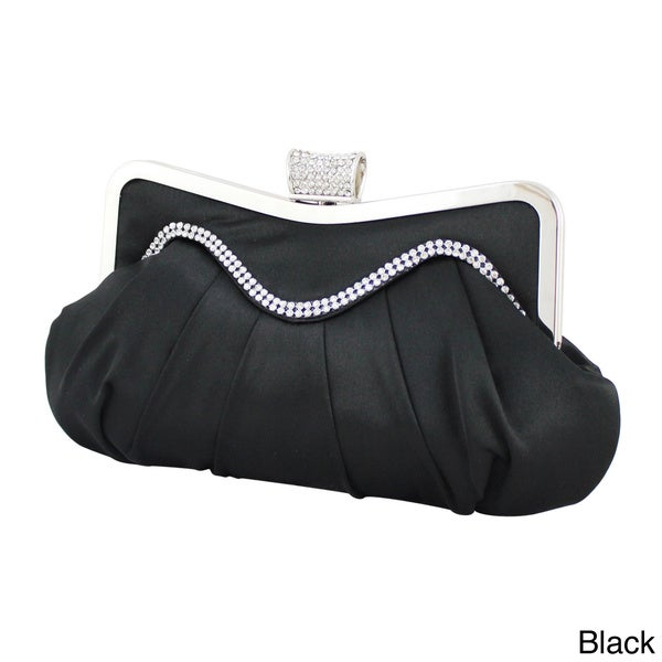 Jacki Design Satin Soft Frame Evening Clutch