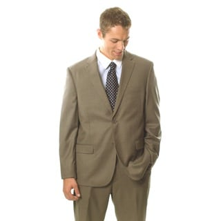 Caravelli Men's Light Brown 2-button Notch Collar Suit