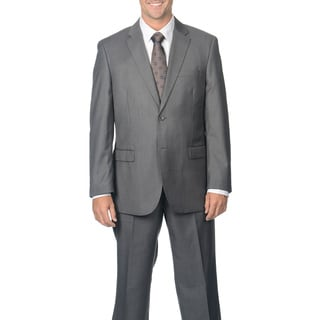 Caravelli Men's Grey Notch Collar 2-button Suit