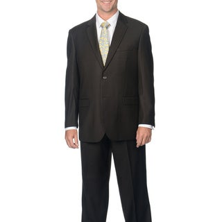 Caravelli Men's Brown 2-button Notch Collar Suit