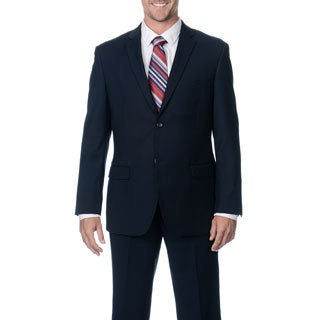 Caravelli Men's Slim Fit Navy 2-button Suit