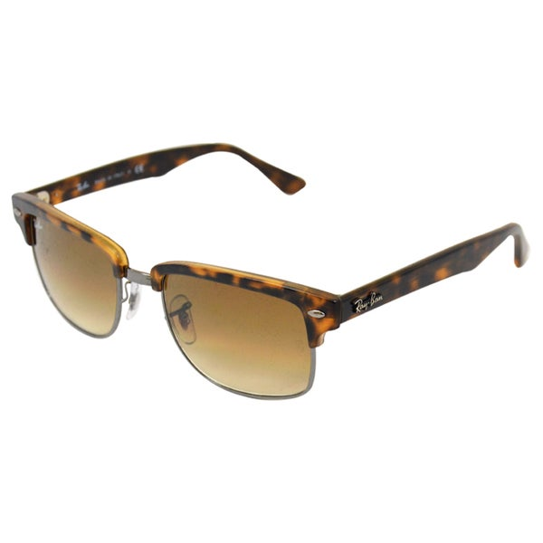 Ray Ban Men's 'RB4190 878/51' Semi Gloss Havana Sunglasses