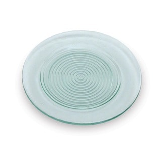 'Rings' Recycled Glass Salad Plate (Set of 4)
