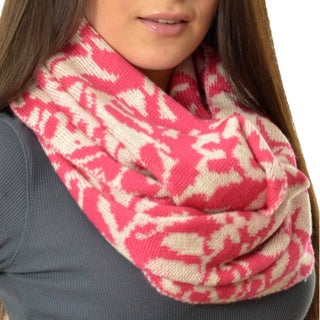 LA77 Nubby Knit Loop Scarf