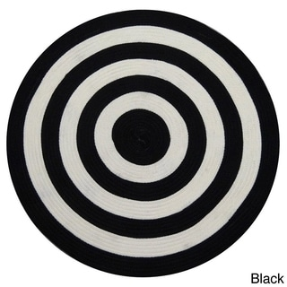Fowler Braided Area Rug (4'9 Round)
