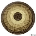 Woodland Braided Area Rug (6' Round)