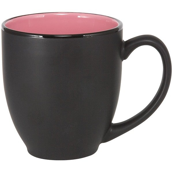 Bistro Pink Ceramic Mugs (Set of 4)