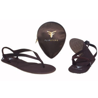 Flipsters Copper Foldable Flip-flop Sandals