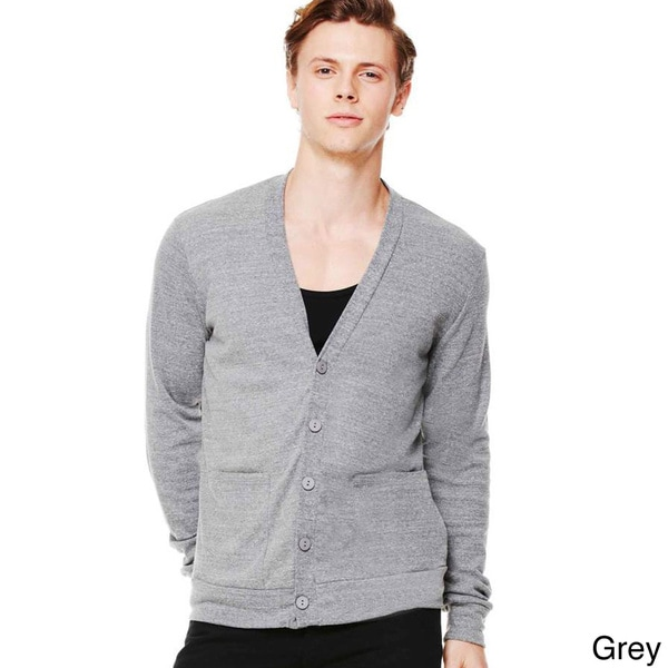 Men's Canvas Tri-blend Cardigan
