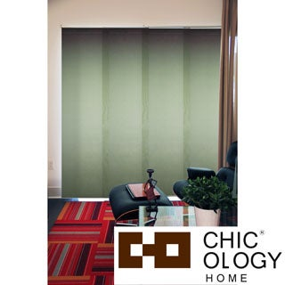 Chicology Cucumber Cordless 4 Panel System Alps Blinds