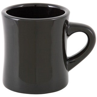 Black Diner Mug (Set of 4)
