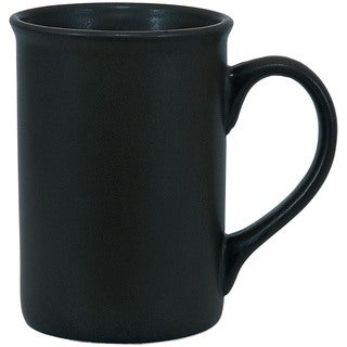 Urban Matte Black Mugs (Set of 4)