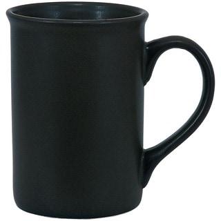 Urban Matte Black Mugs (Set of 4)
