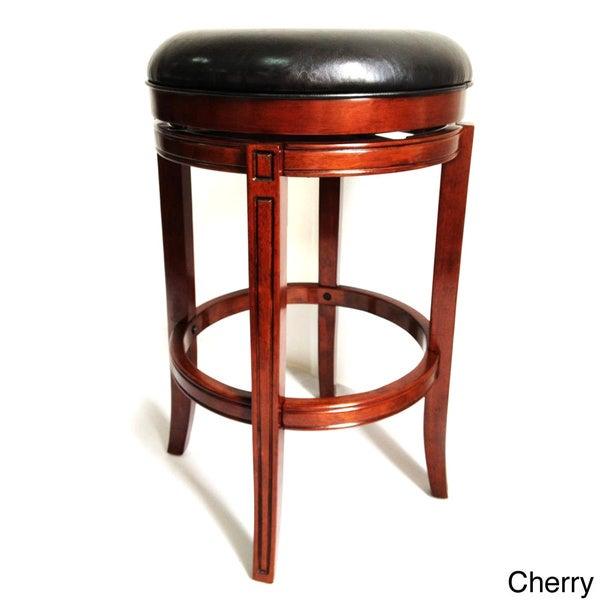 29-inch Flared Leg Swivel Stool