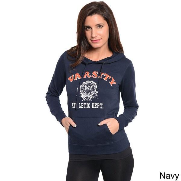Stanzino Women's Long Sleeve Hoodie Sweater