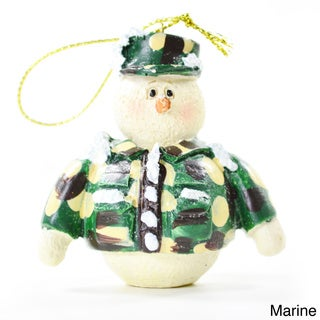 Military Holiday Tree Ornaments