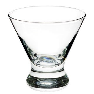 Clear Cosmo Flared Glass (Set of 4)