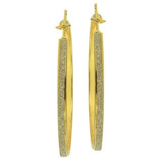 Kate Marie Goldtone Hoop Earrings